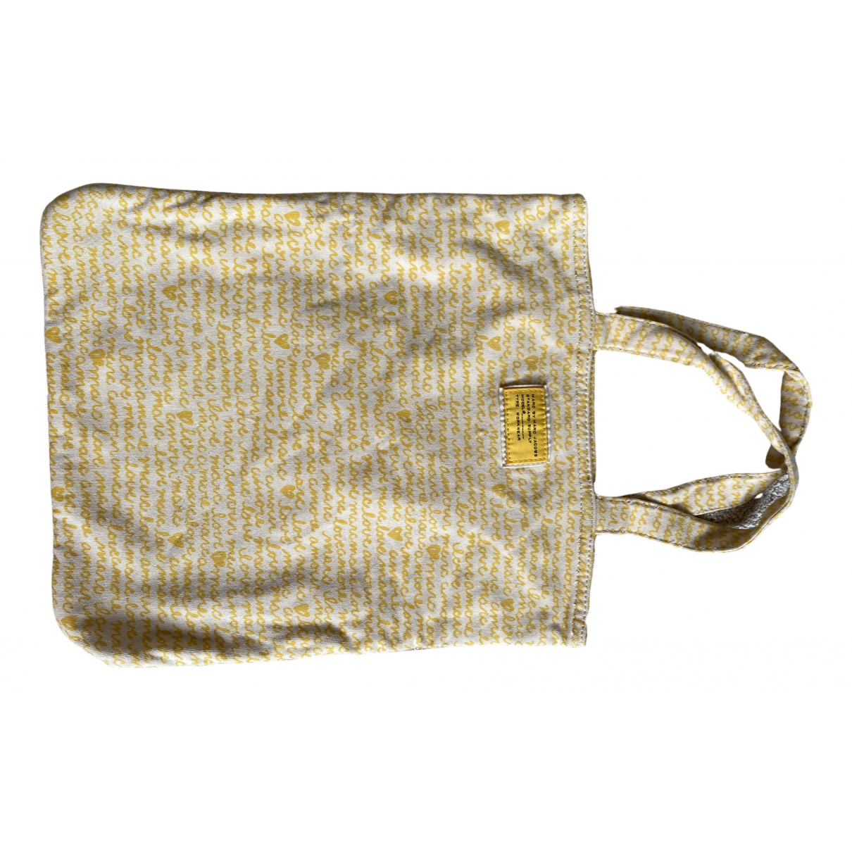 Marc By Marc Jacobs N Yellow Cloth handbag for Women N