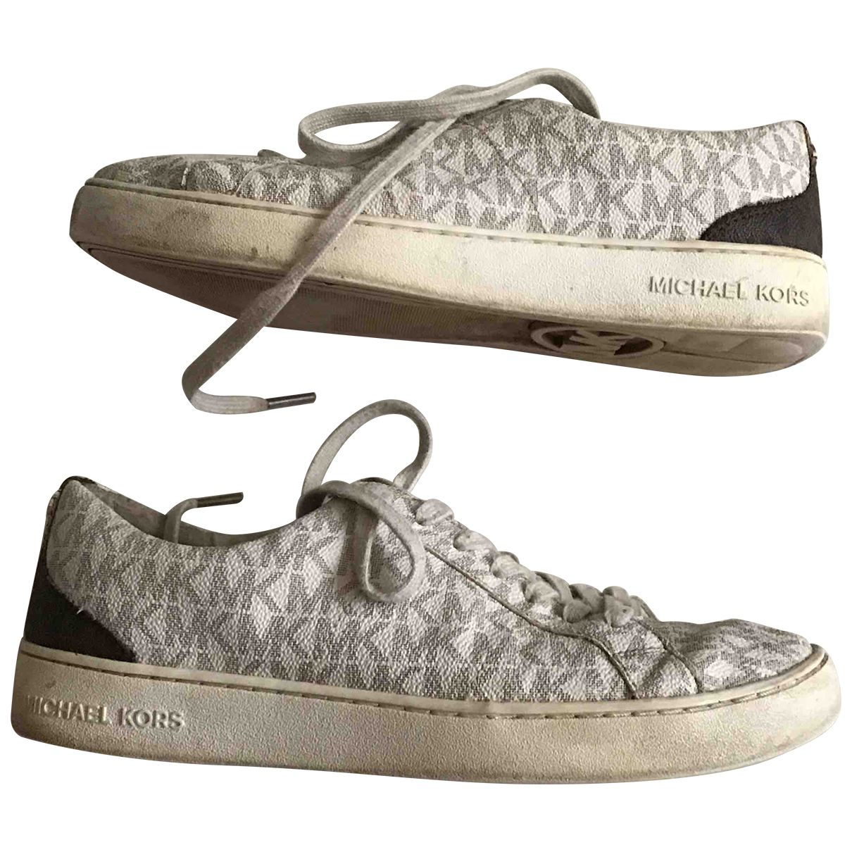 Michael Kors \N White Leather Trainers for Women 38 EU