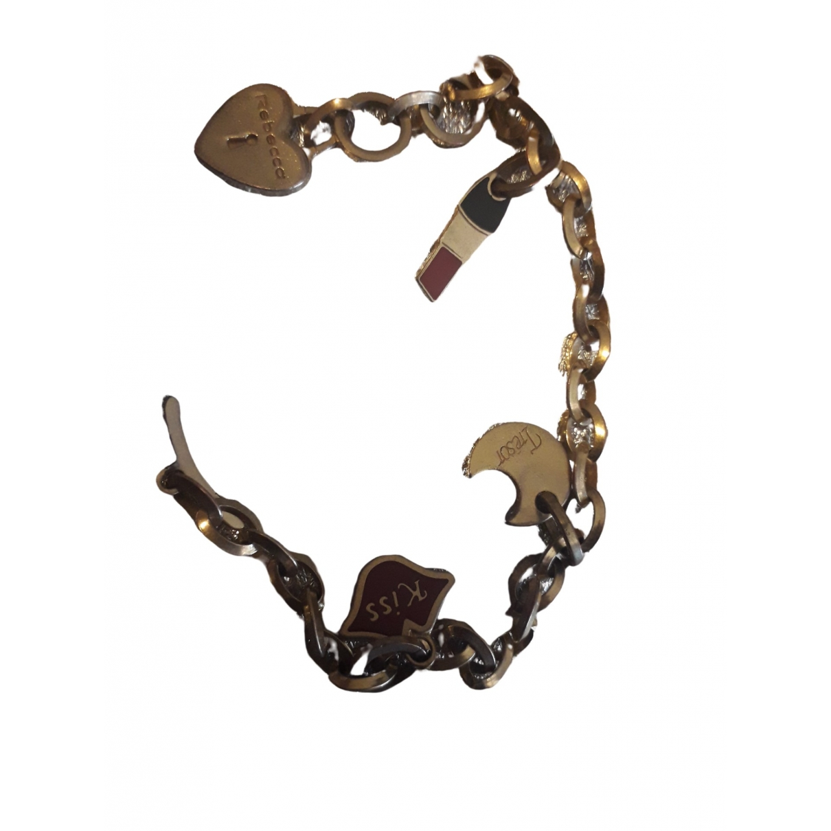 Rebecca - Bracelet   pour femme en metal - dore