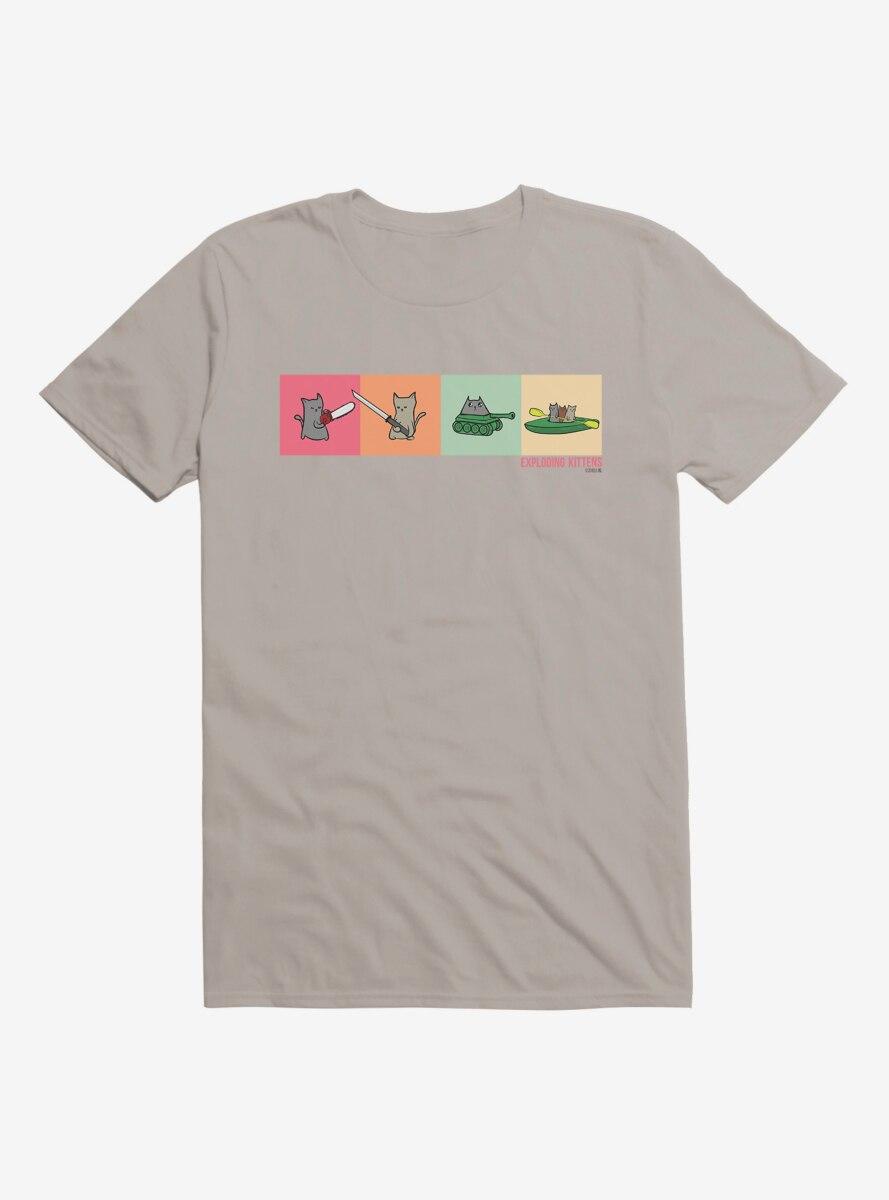 Exploding Kittens Icons T-Shirt