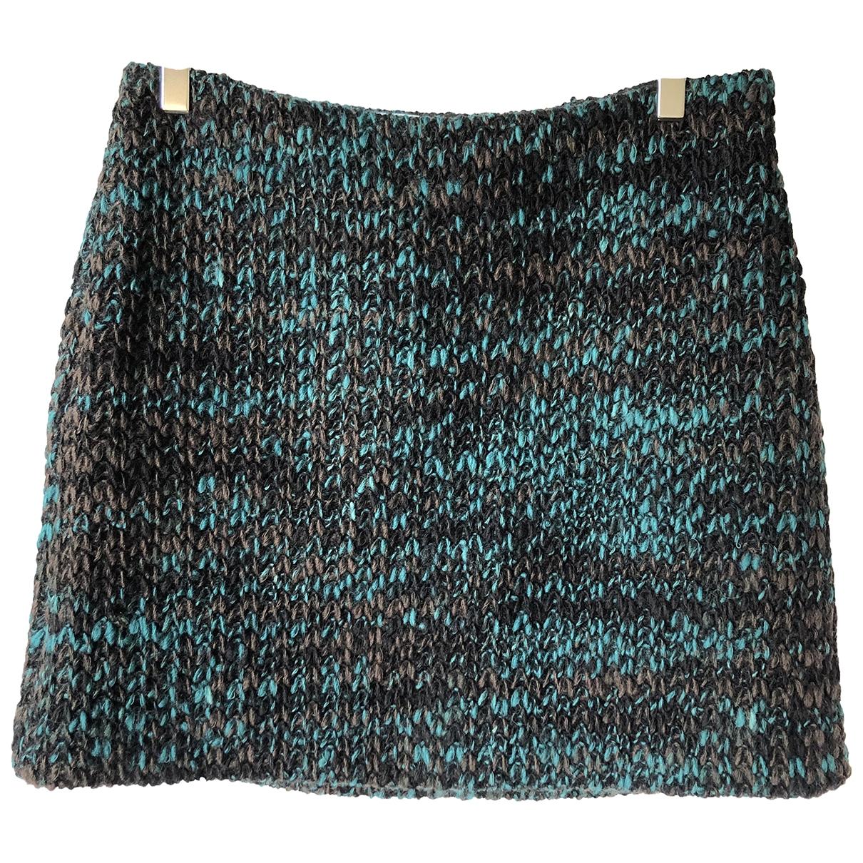 Prada \N Multicolour Wool skirt for Women 46 IT