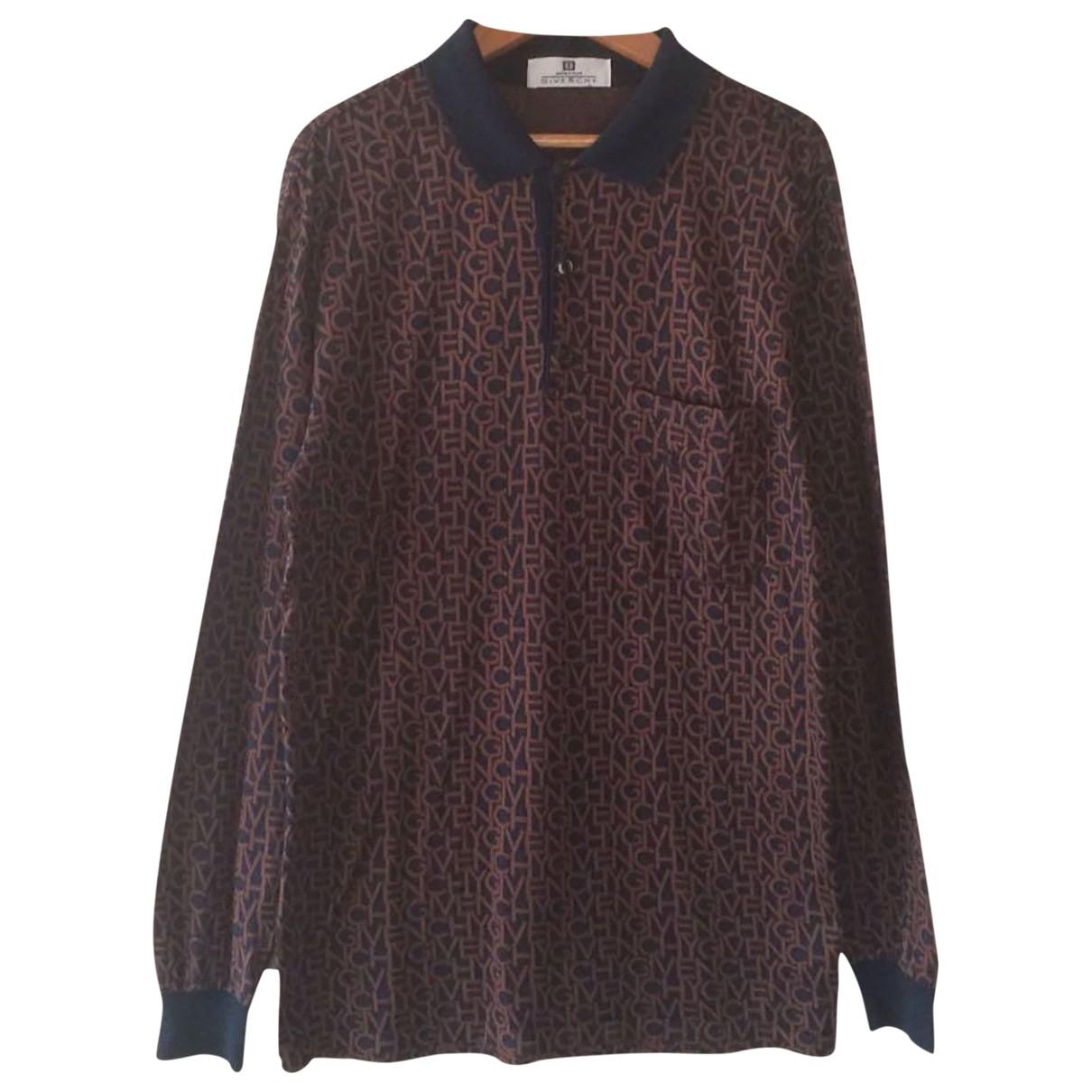 Givenchy - Polos   pour homme en coton - marron