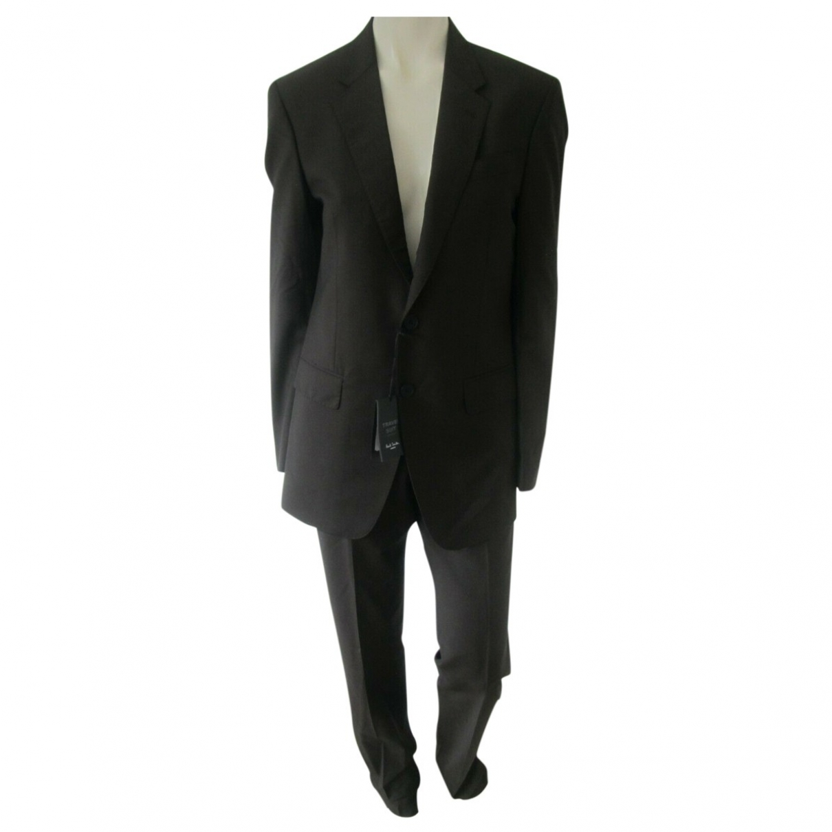 Paul Smith \N Brown Wool Suits for Men 36 UK - US