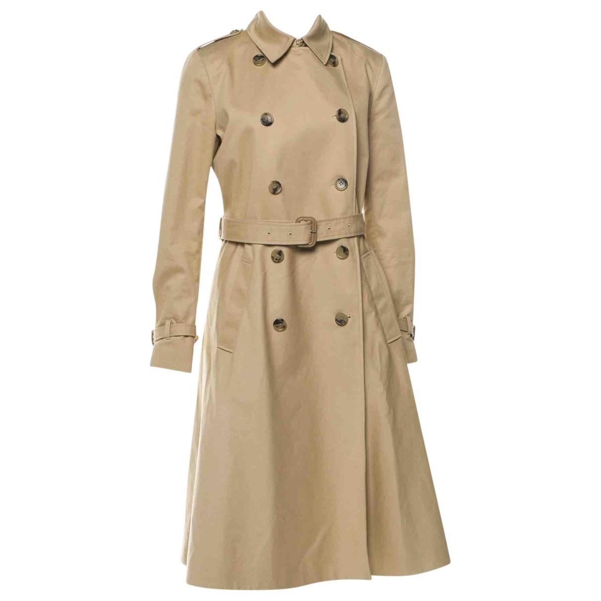 Vanessa Seward - Trench   pour femme en coton - beige