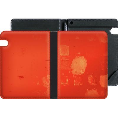 Amazon Kindle Voyage eBook Reader Huelle - Red Block Background von Brent Williams