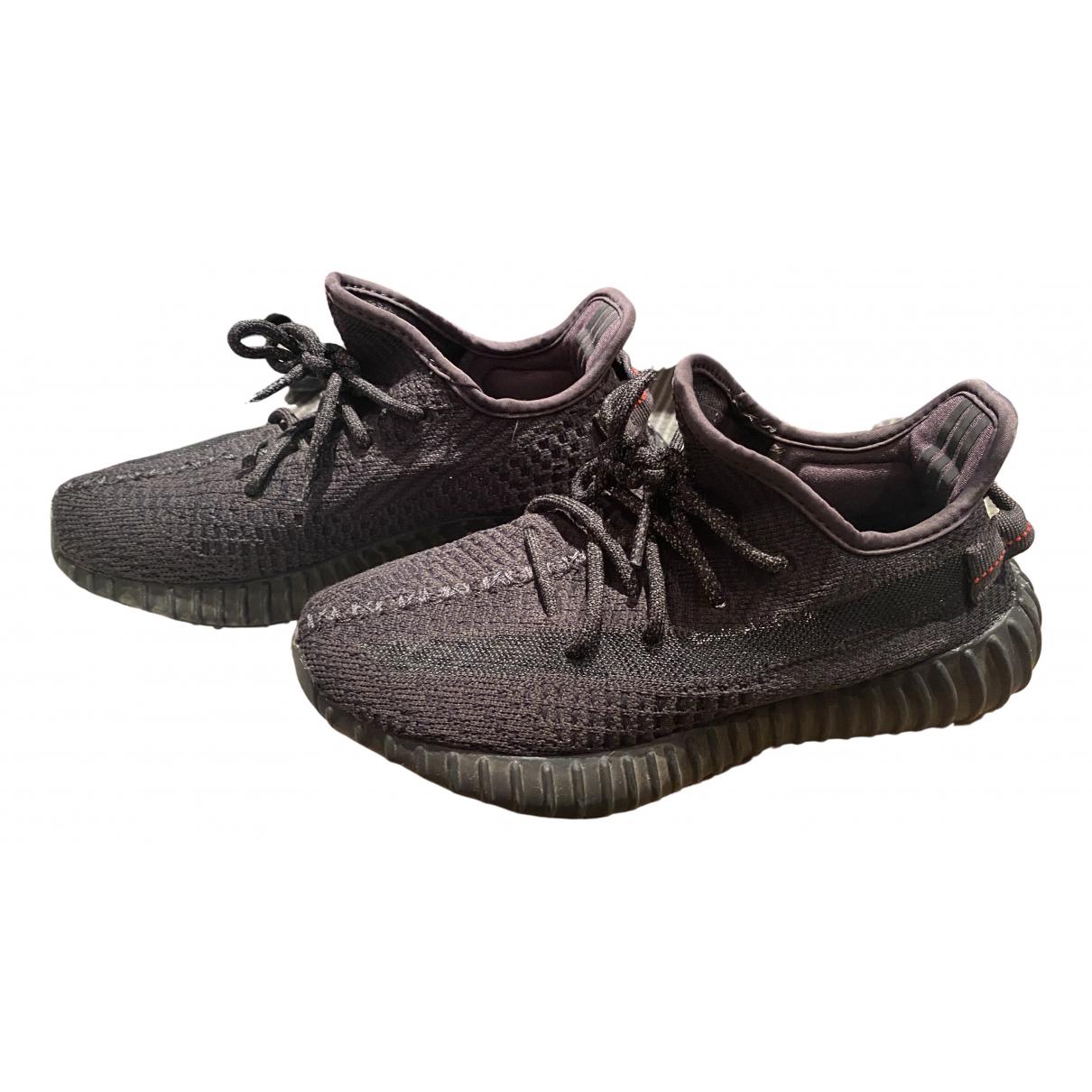 Yeezy X Adidas - Baskets Boost 350 V1 pour femme en toile - noir