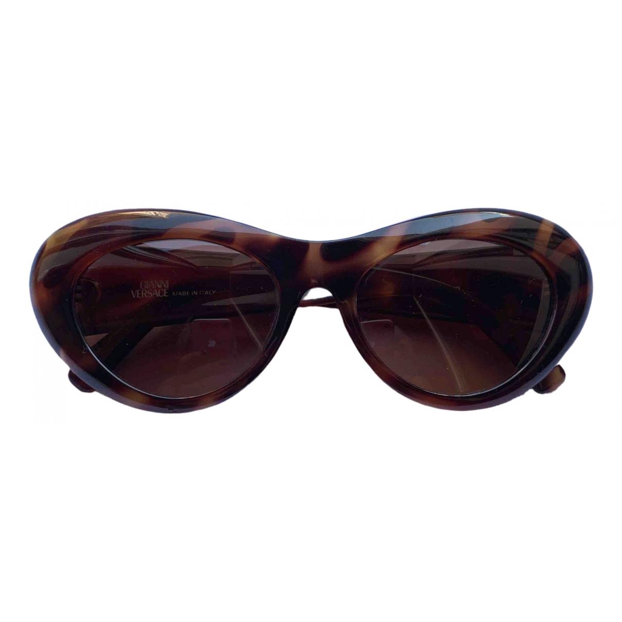Versace - Lunettes   pour femme - marron