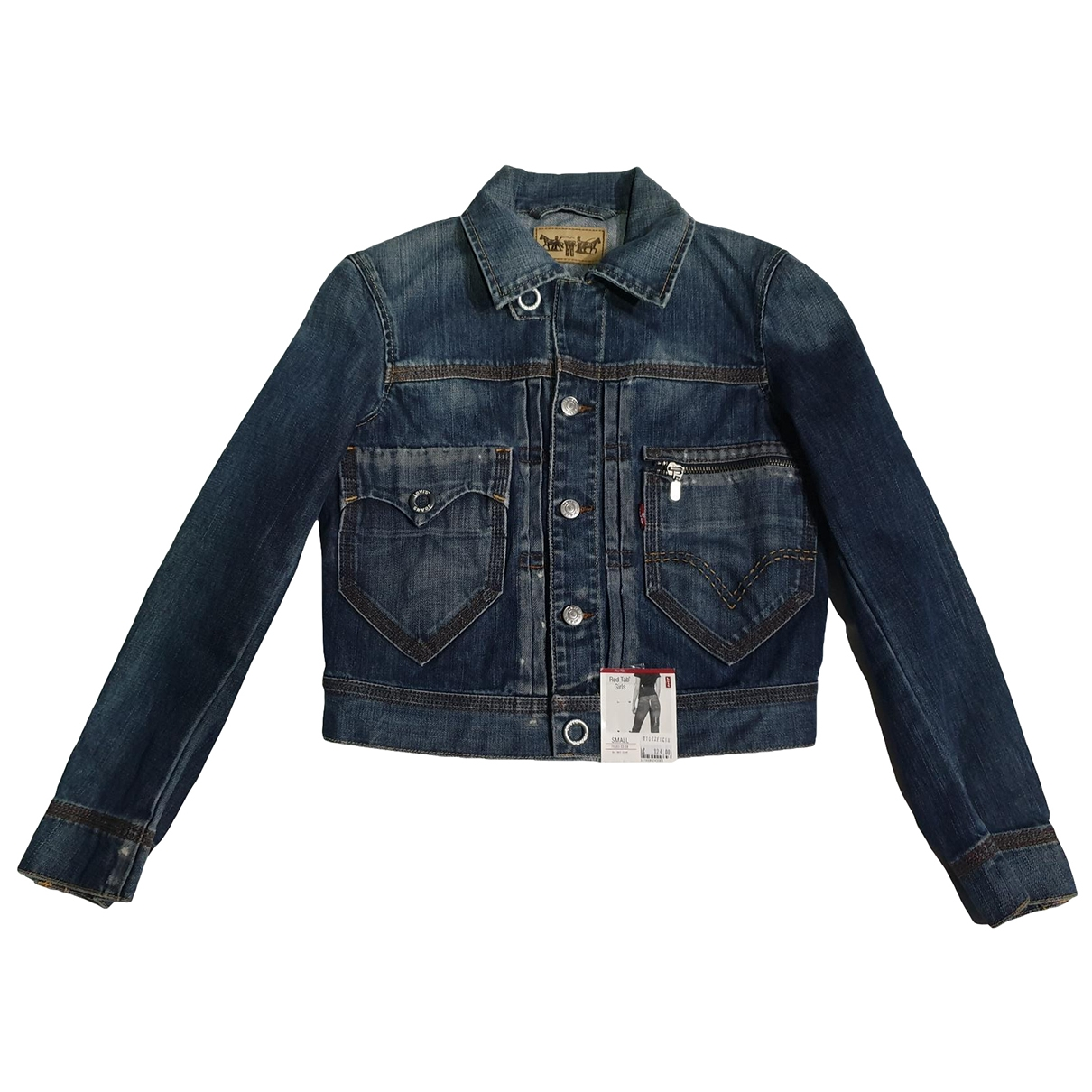 Levi's \N Blue Cotton jacket for Women S International