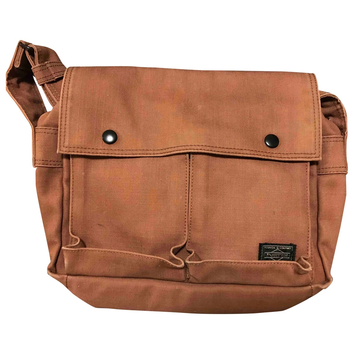 Porter By Yoshida Kaban \N Brown Cotton handbag for Women \N