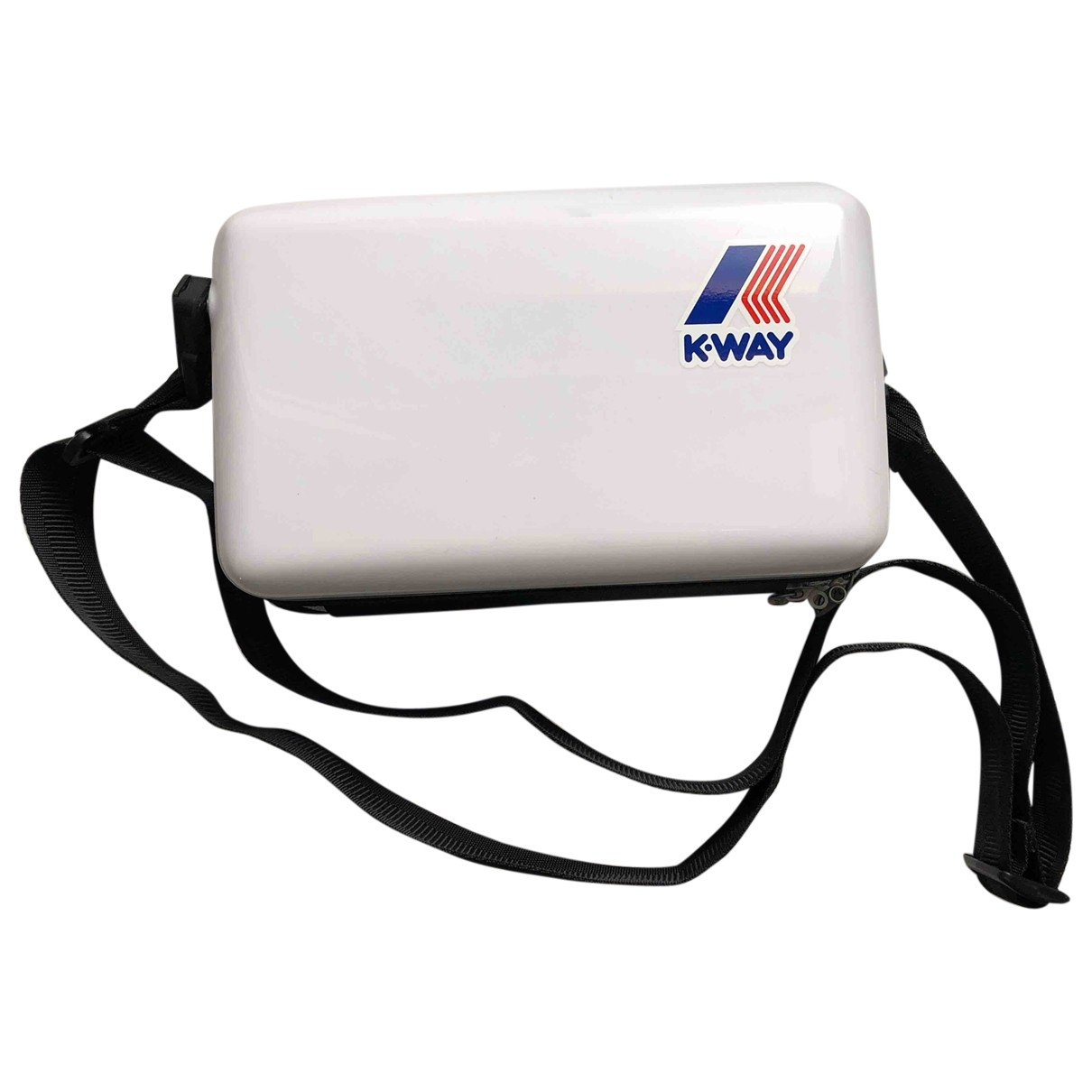 Bolsos clutch en Plastico Blanco K-way