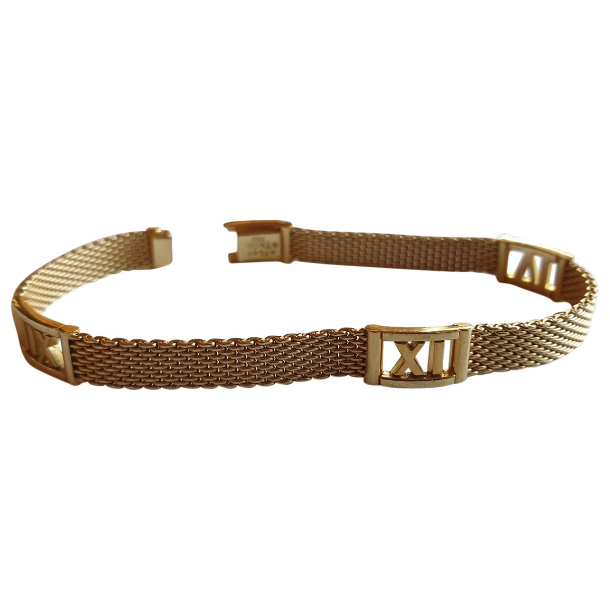 Tiffany & Co Atlas Armband in  Gold Gelbgold