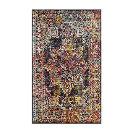 Safavieh Crystal Collection Gaman Oriental Area Rug, One Size , Multiple Colors