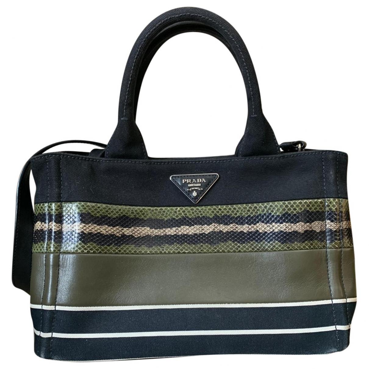 Prada \N Multicolour Cloth handbag for Women \N
