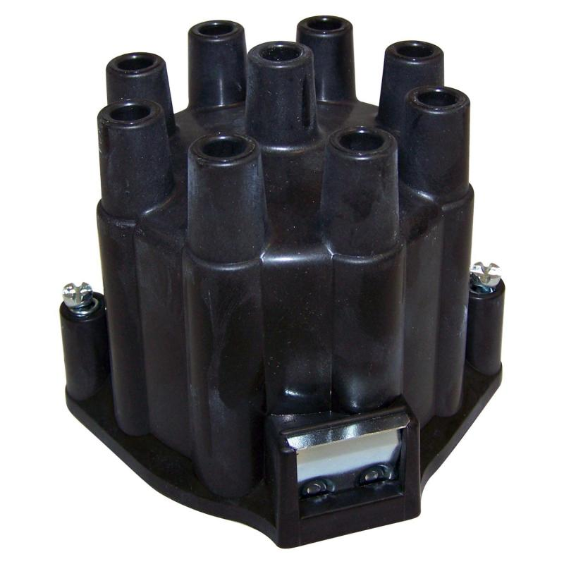 Crown Automotive J3200192 Jeep Replacement Distributor Cap for Misc. 1965-1971 Jeep Vehicles w/ AMC V8 Engines Jeep Left
