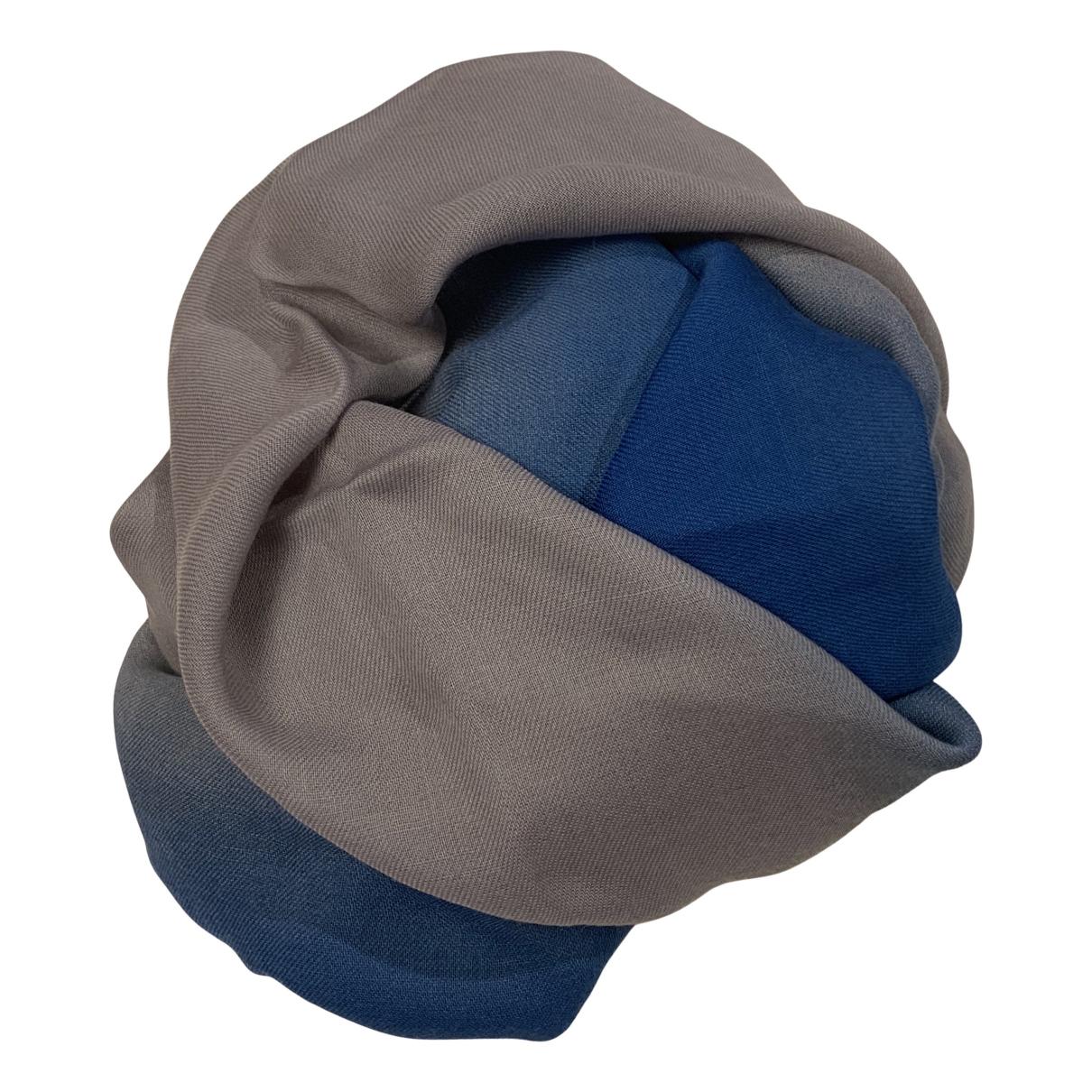 Bottega Veneta N Blue Wool scarf for Women N