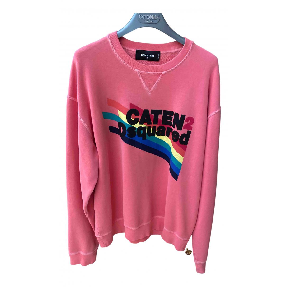 Dsquared2 N Pink Cotton Knitwear & Sweatshirts for Men XL International