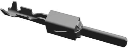 TE Connectivity , AMP MCP 2.8 Male Crimp Terminal Contact 1-963861-1 (25)