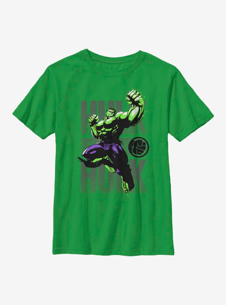 Marvel Hulk Stack Youth T-Shirt