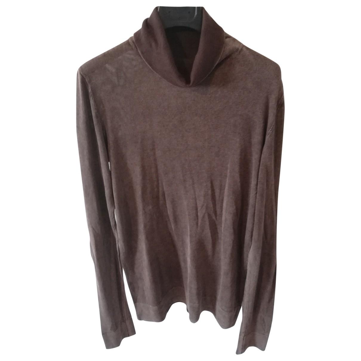 Mm6 - Top   pour femme en coton - marron