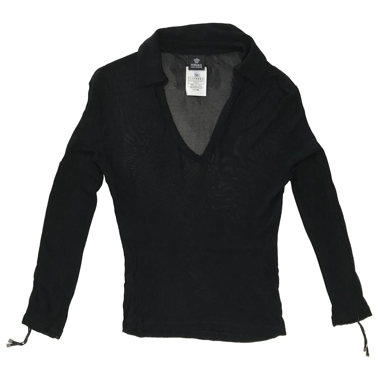 Versace Jean - Pull   pour femme - noir