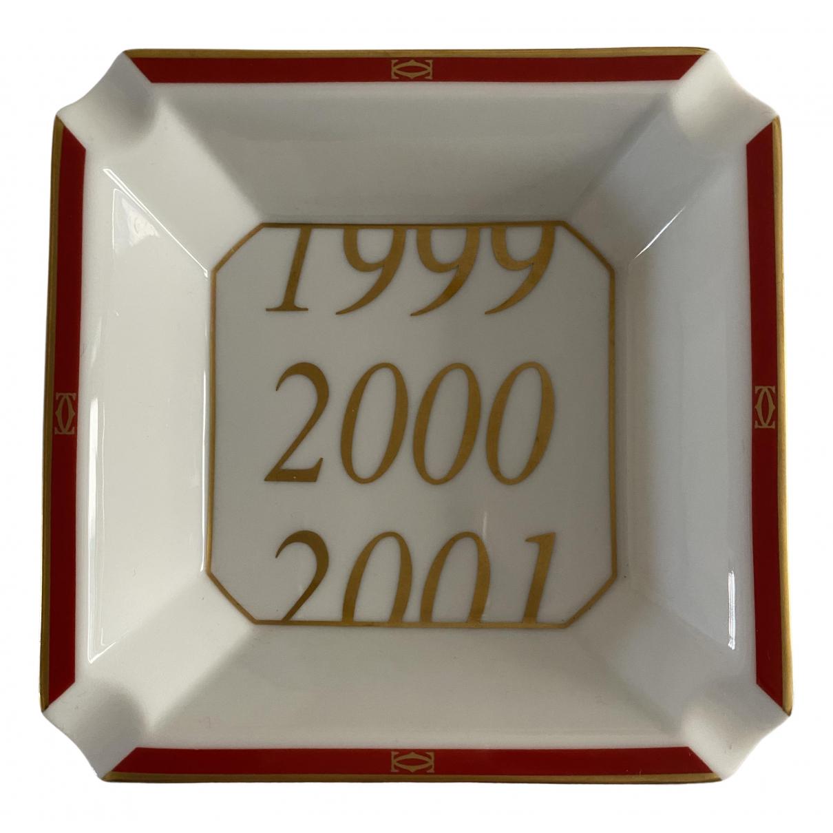 Cartier - Objets & Deco   pour lifestyle en porcelaine - blanc
