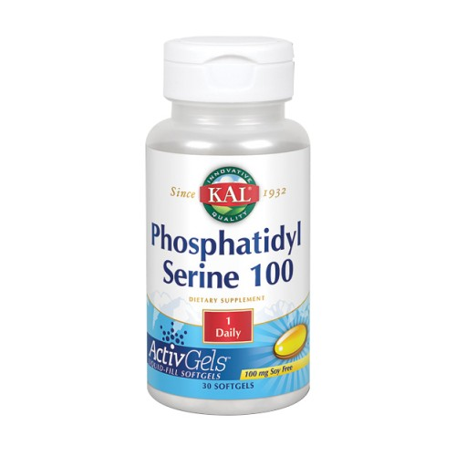 Phosphatidylserine 100 30 Softgels by Kal