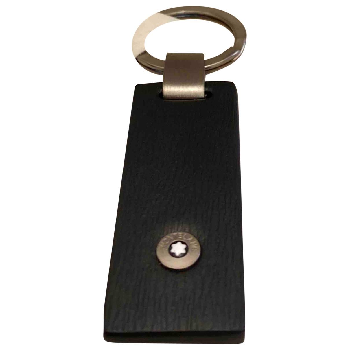 Montblanc - Bijoux   pour homme en cuir - noir
