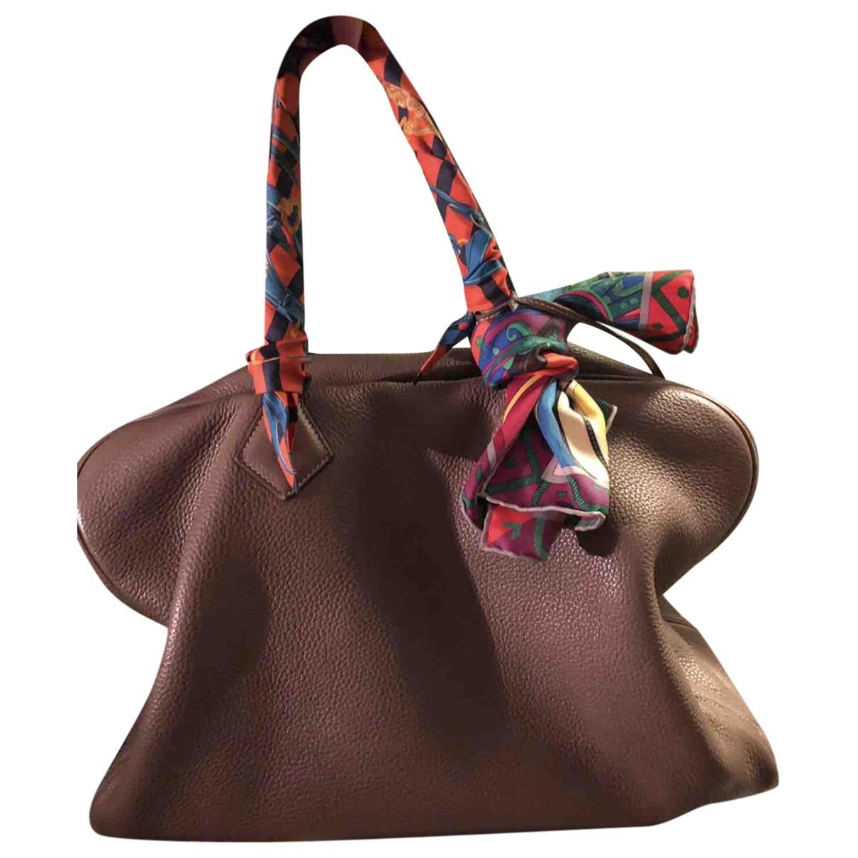 Hermès Victoria Leather handbag for Women \N