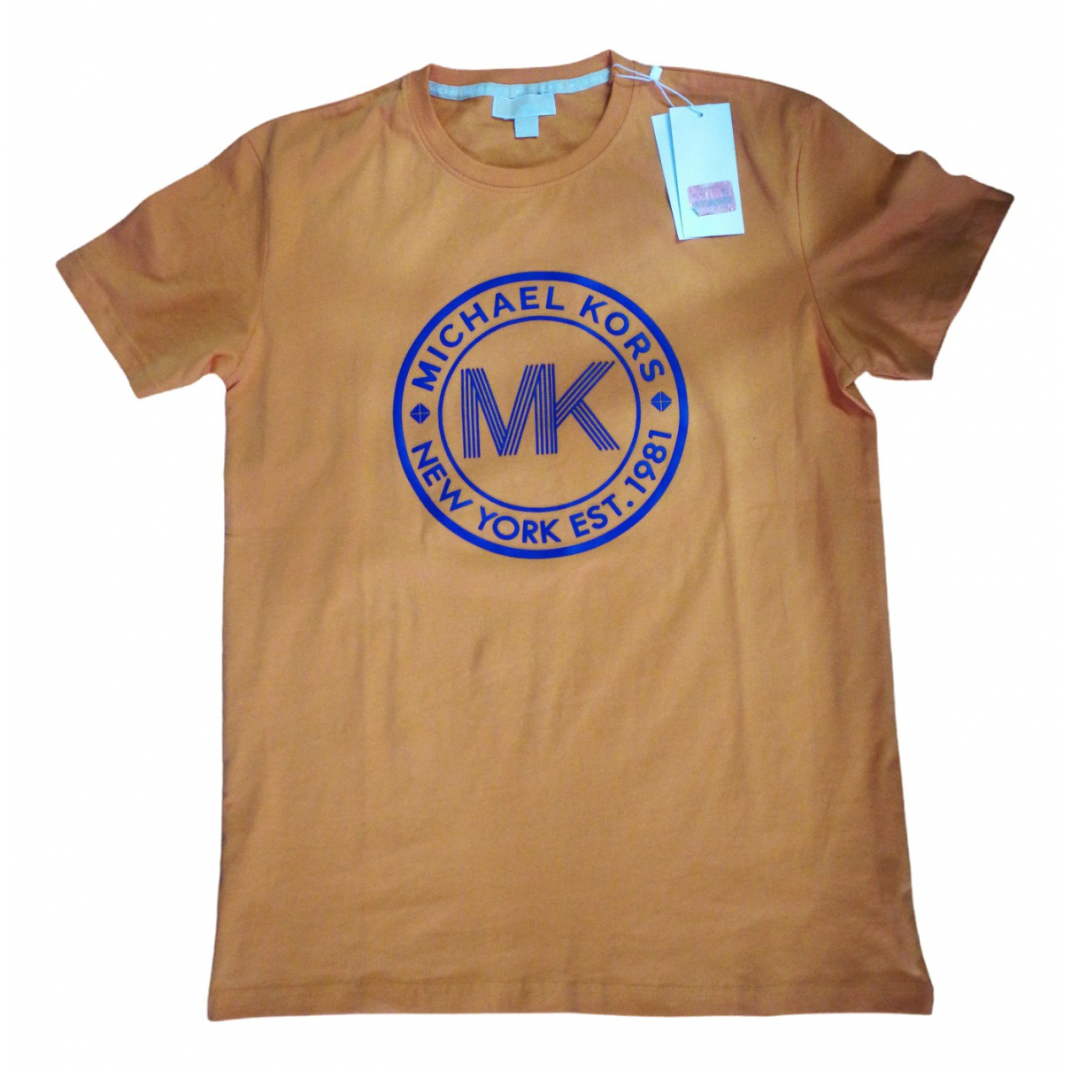 Michael Kors - Tee shirts   pour homme en coton - orange