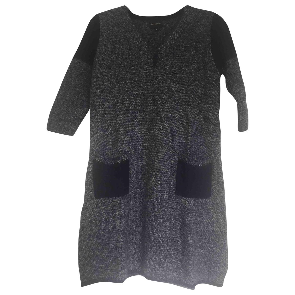 Berenice - Robe   pour femme en laine - bleu