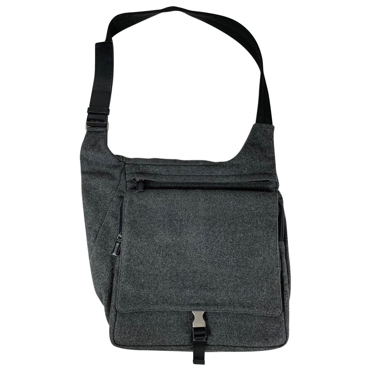 Prada \N Grey Wool handbag for Women \N