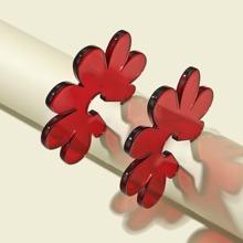 Ohrstecker mit Blumen Design