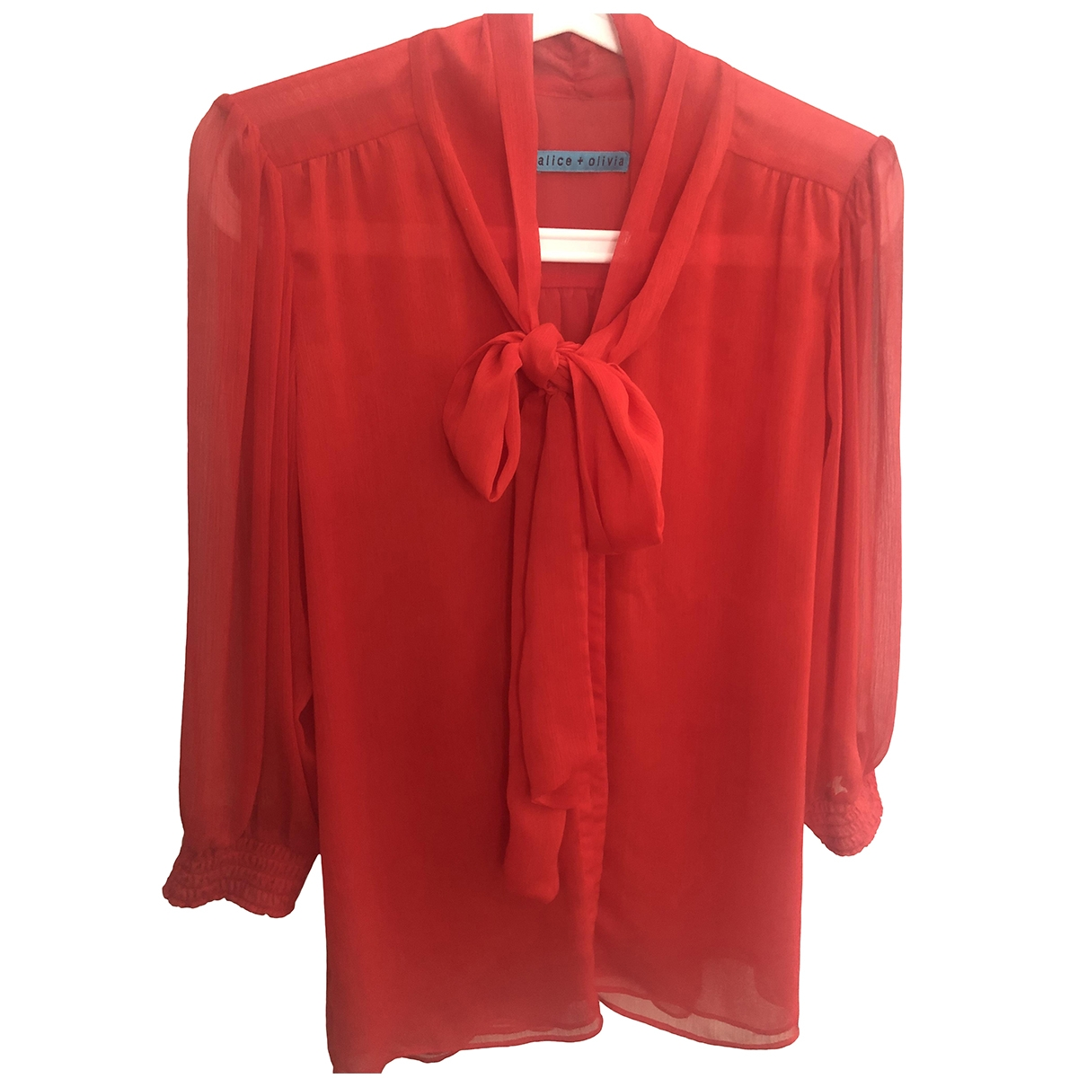 Alice & Olivia \N Top in  Rot Polyester