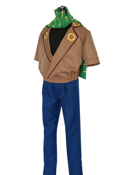Milanoo JoJos Bizarre Adventure Joseph Joestar Cosplay Costume