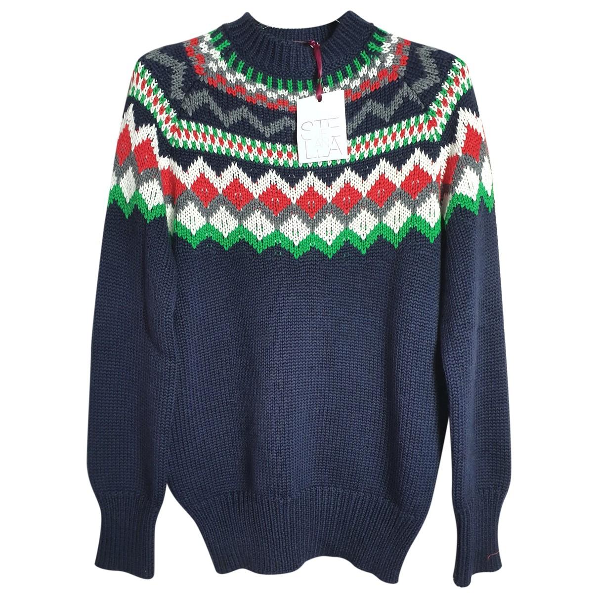 Stella Jean \N Pullover.Westen.Sweatshirts  in  Bunt Wolle
