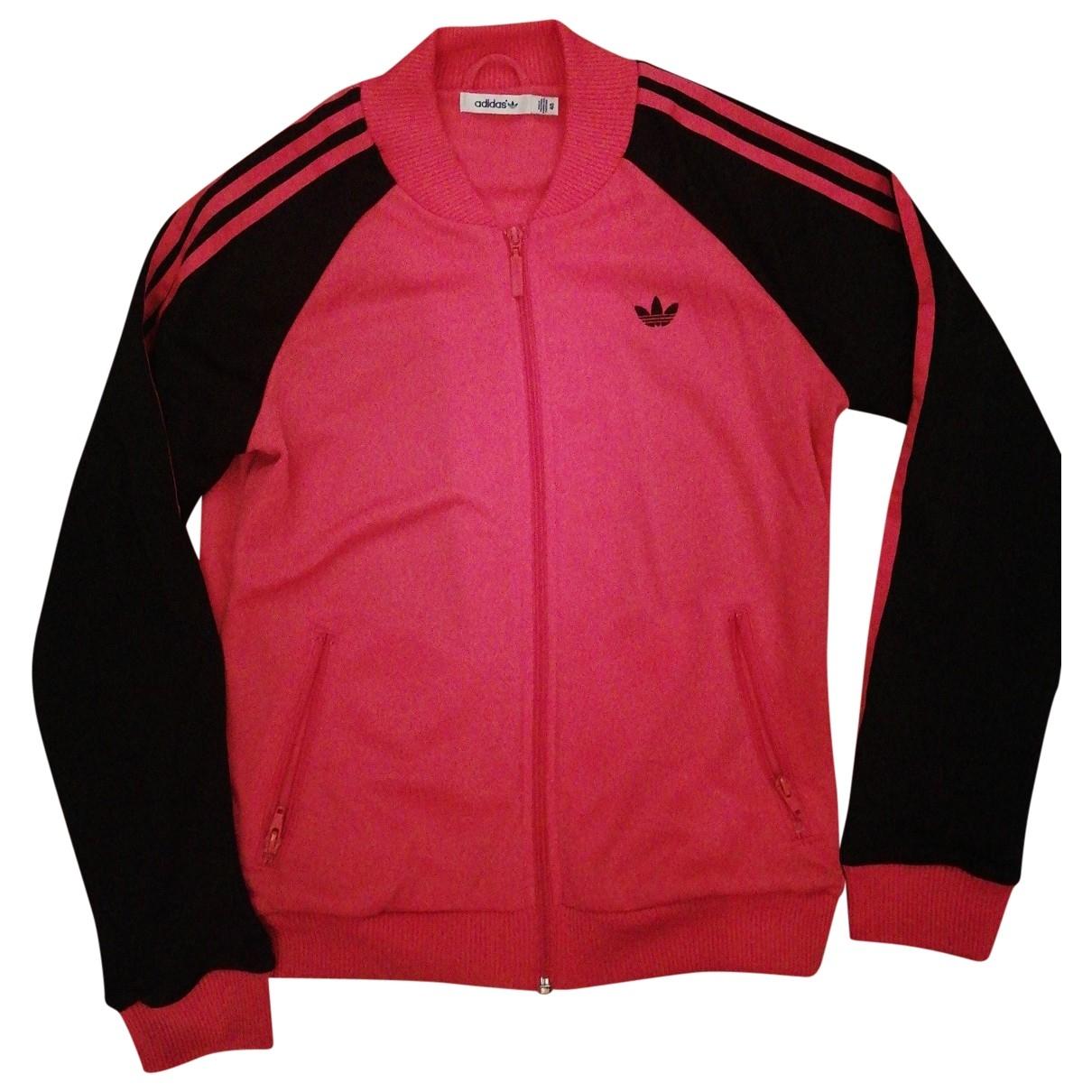 Adidas \N Jacke in  Rosa Polyester