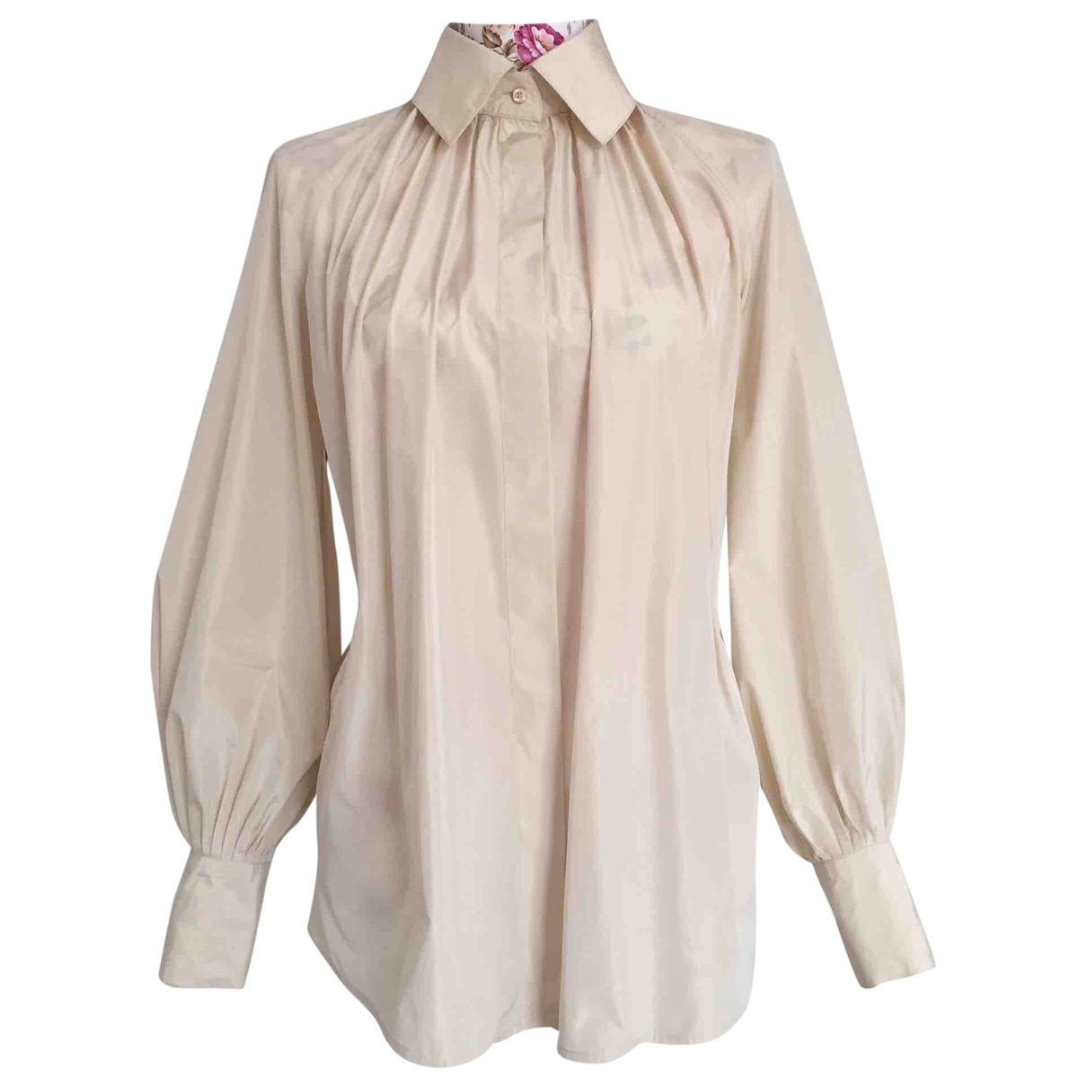 Givenchy \N Top in  Beige Polyester