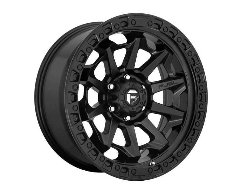 Fuel D694 Covert Wheel 17x9 8X170 1mm Matte Black