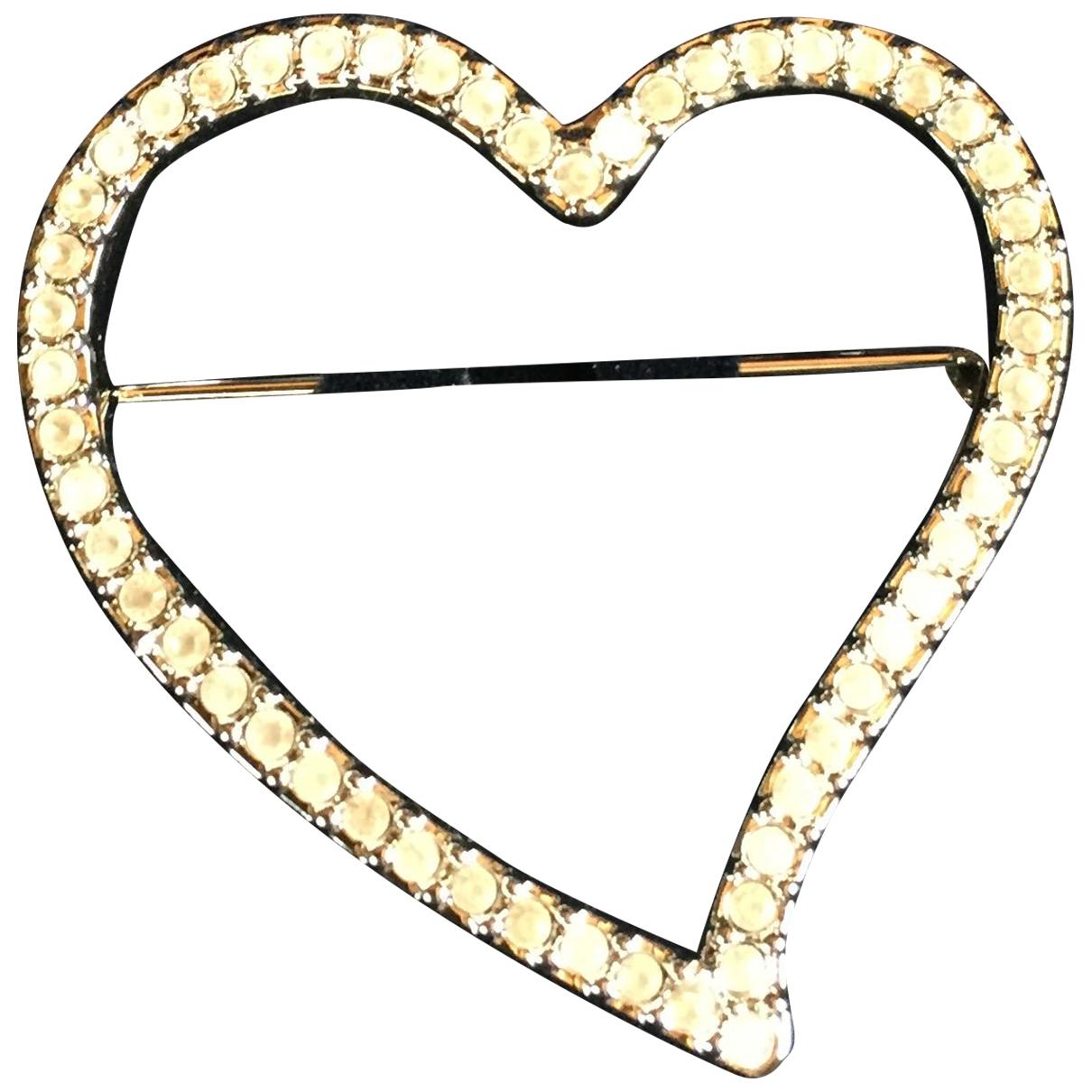 Swarovski - Broche   pour femme en metal - argente
