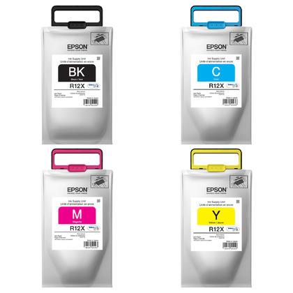 Epson R12X TR12X pack d'encre Durabrite Ultra originale combo haute capacité BK/C/M/Y