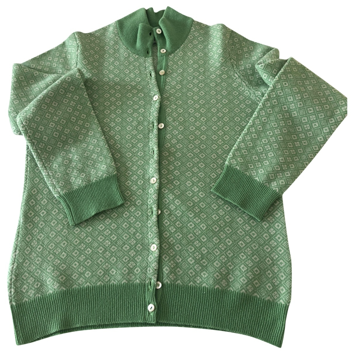 Ballantyne \N Green Wool Knitwear for Women 36 FR