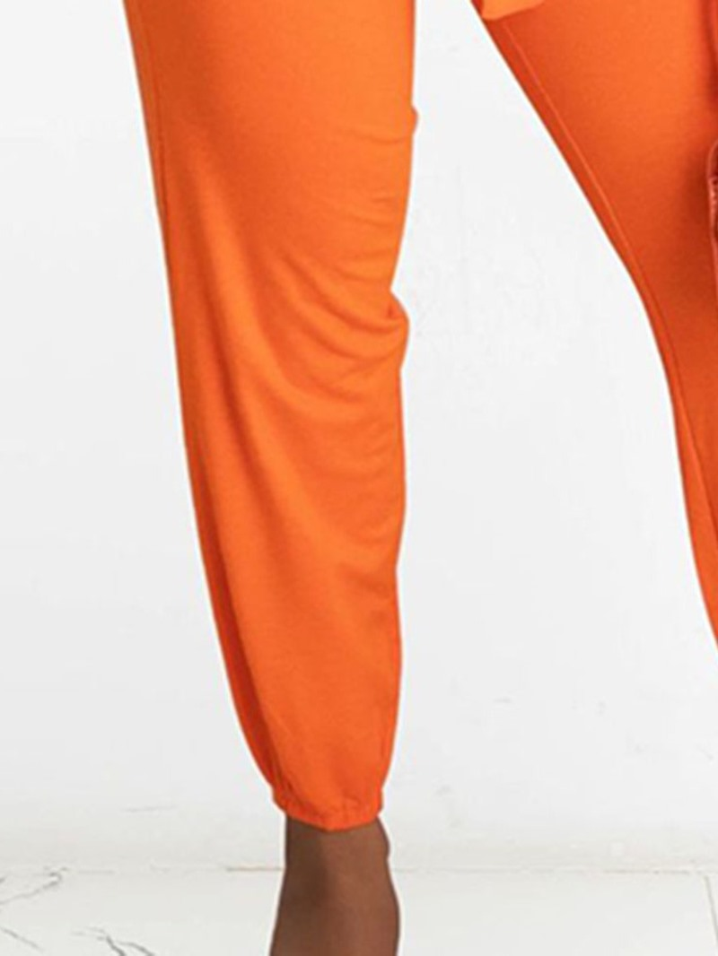 Ericdress Fashion Vest Lace-Up Pencil Pants Pullover Two Piece Sets