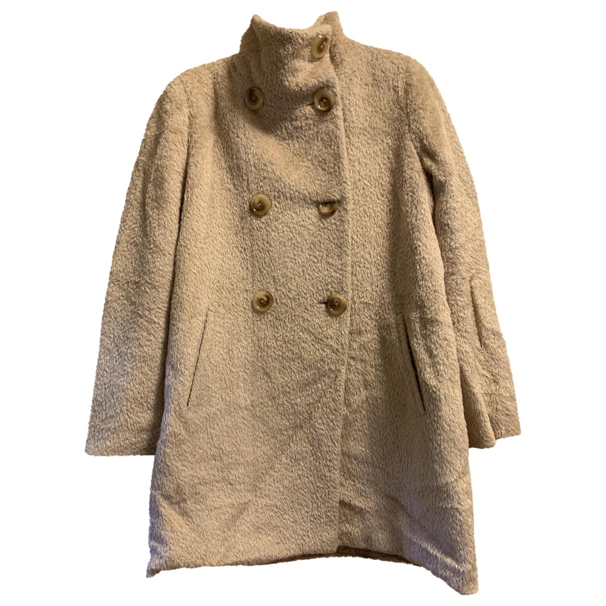 Max Mara Studio \N Ecru coat for Women 12 UK