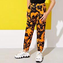 Pantalones deportivos con estampado