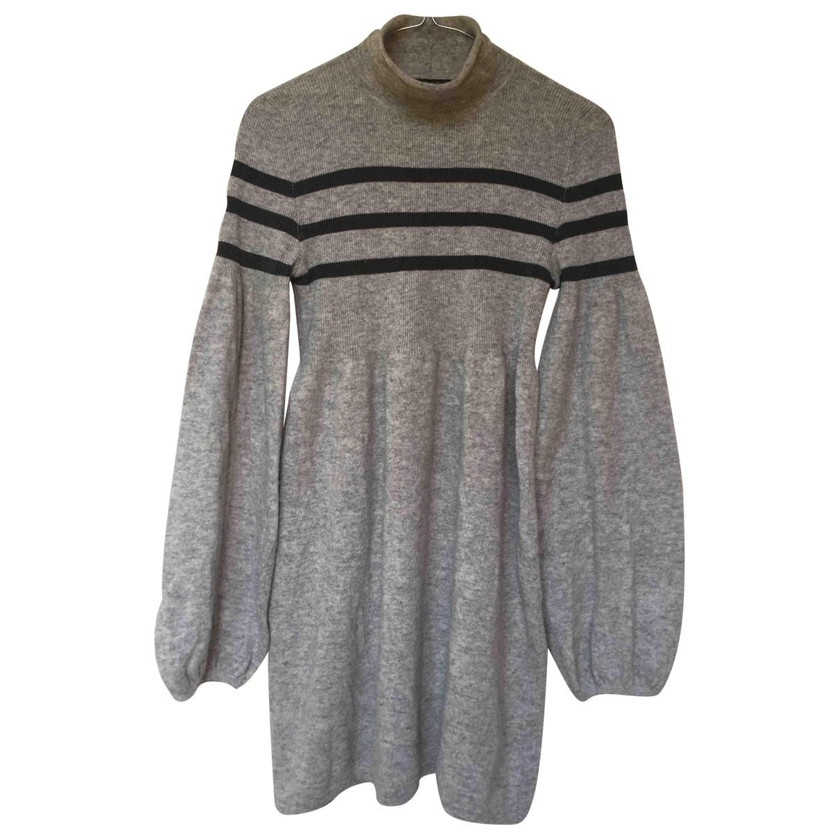 Emporio Armani \N Kleid in  Grau Wolle