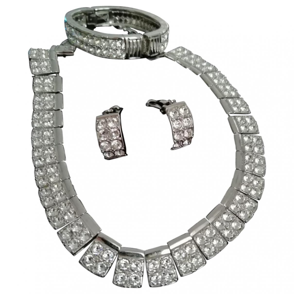 Swarovski - Parure   pour femme en metal - argente
