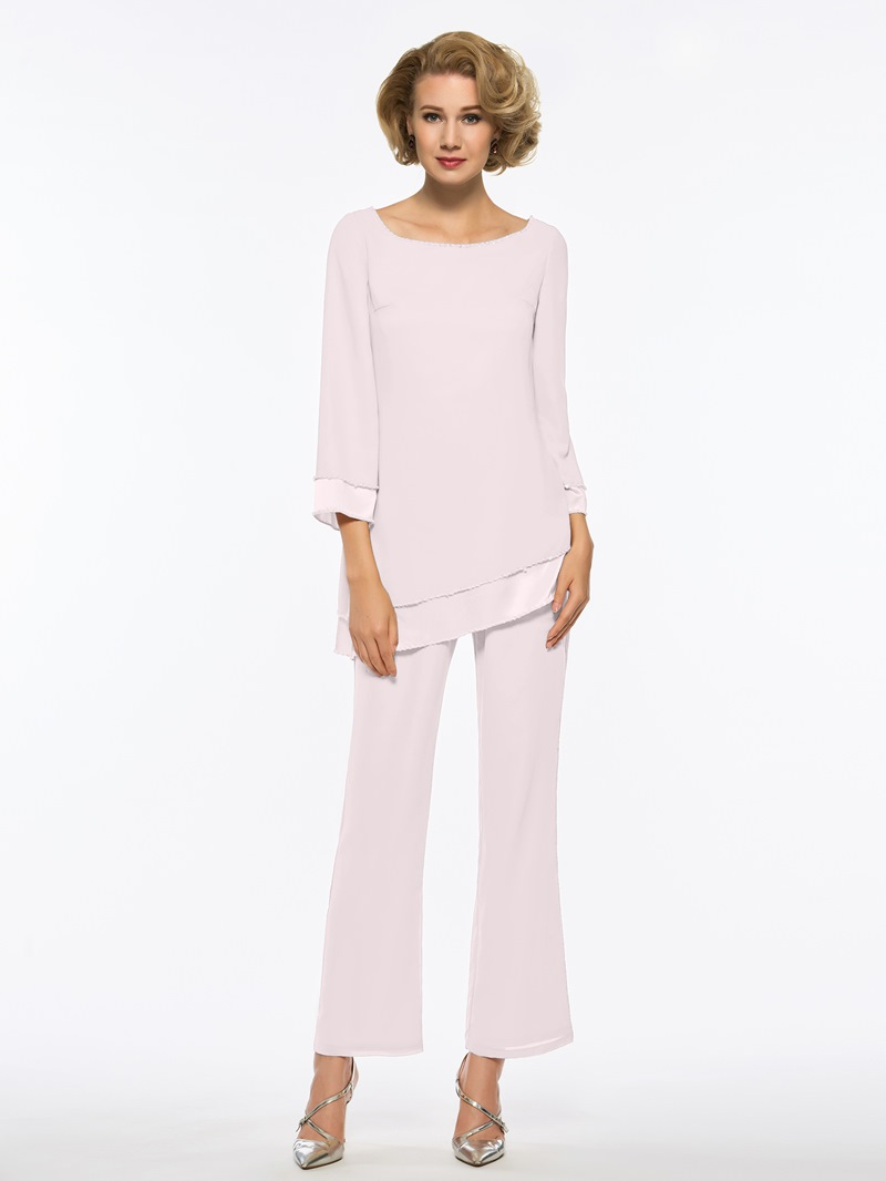 Ericdress 2 Pieces Long Sleeves Mother Of The Bride Pantsuits