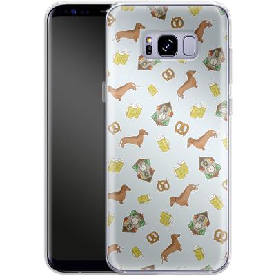 Samsung Galaxy S8 Plus Silikon Handyhuelle - Germany von caseable Designs