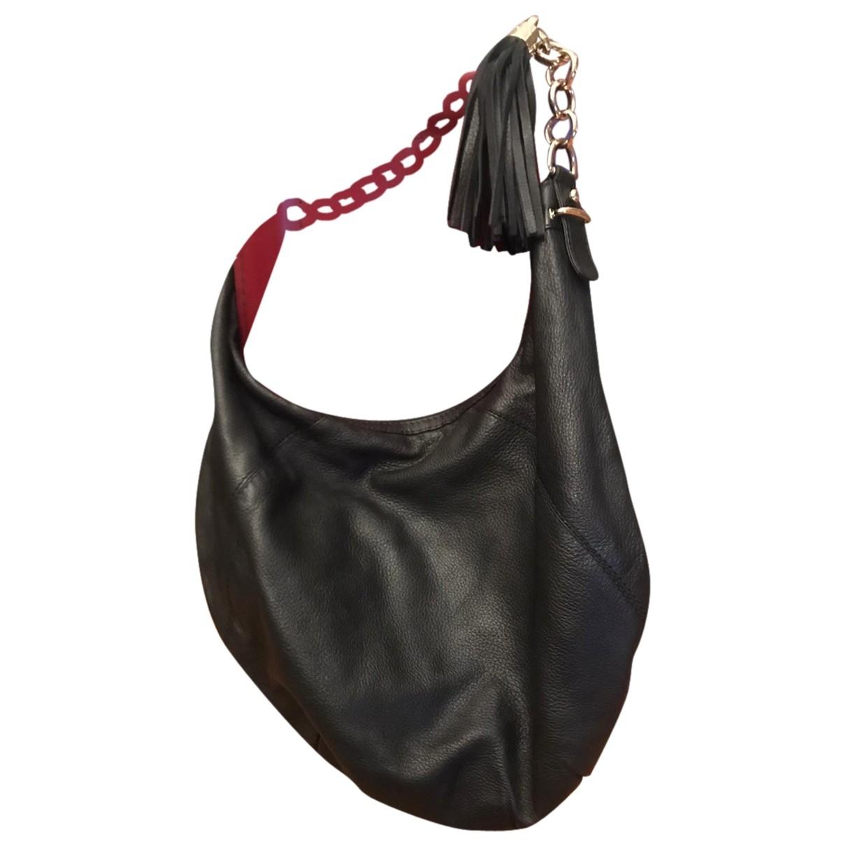 Gucci Hobo Black Leather handbag for Women \N
