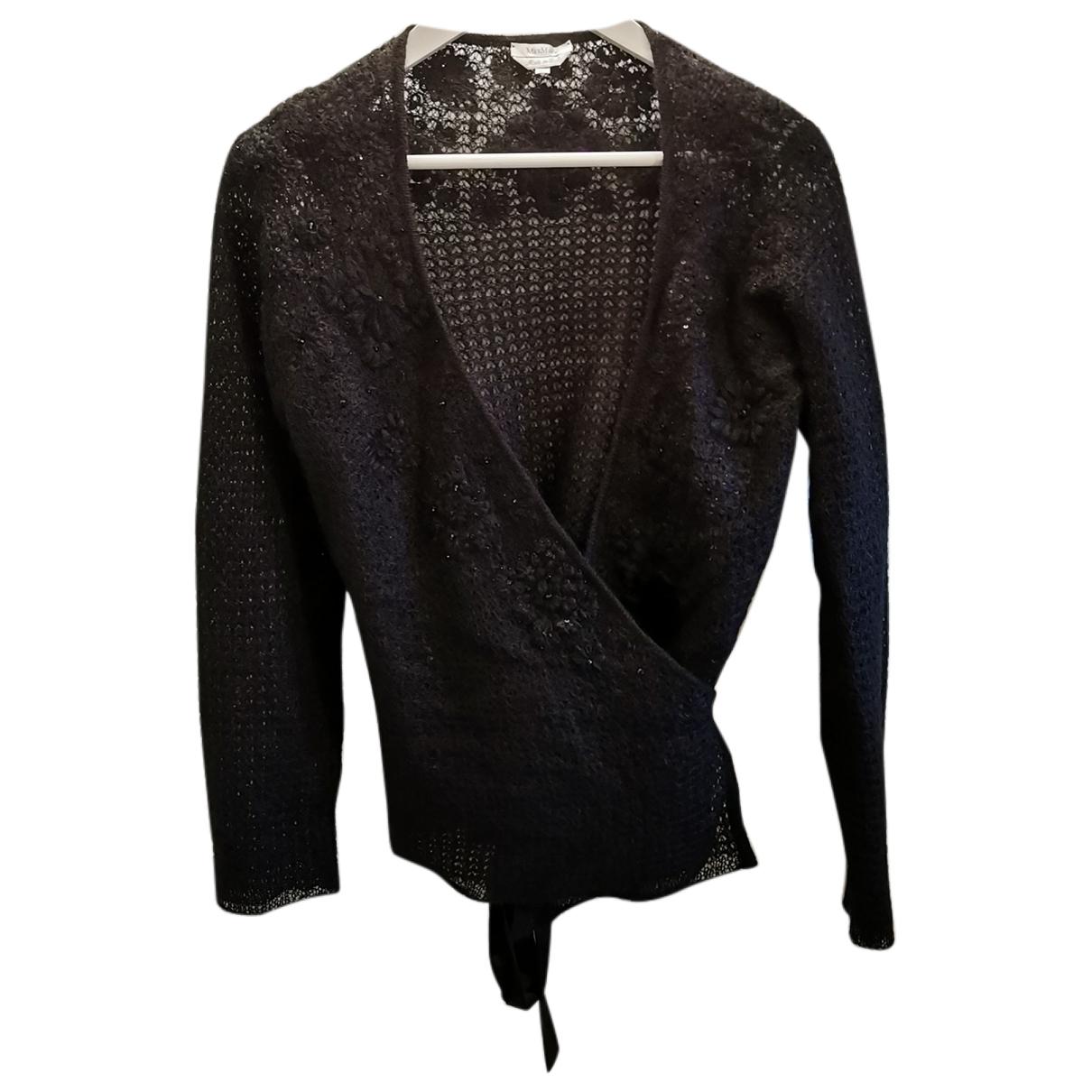 Max Mara \N Pullover in  Schwarz Wolle
